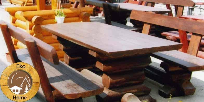 Как сделать деревянный стол на дачу своими руками